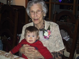 Grandmother with Ava